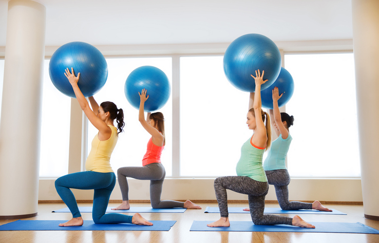 sport grossesse enceinte ballon de grossesse