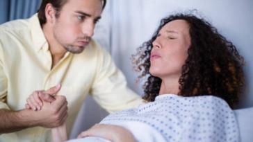 accouchement douleurs contractions déchirure papa hypnose