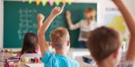école enfant cours travailler