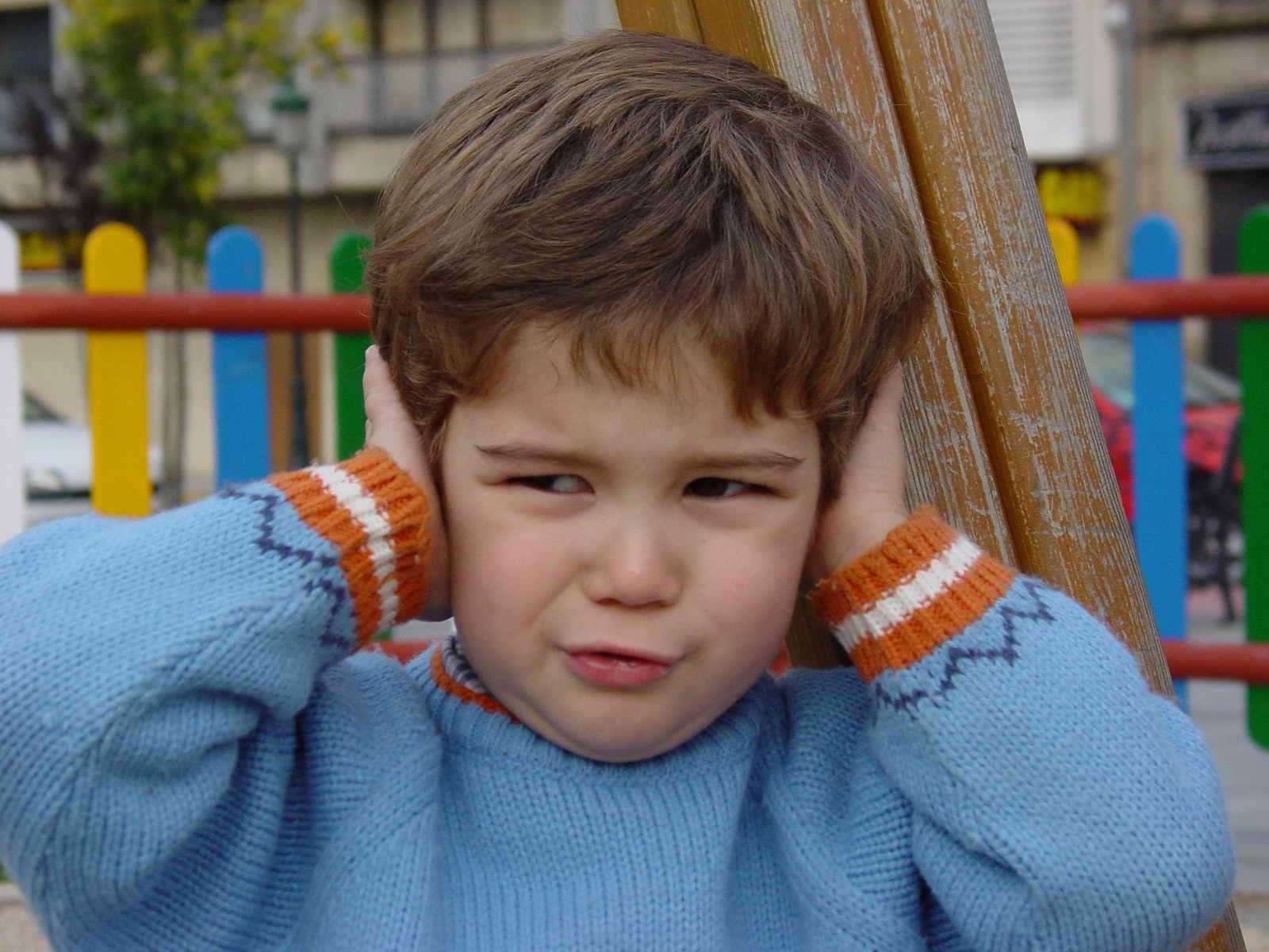 mal d'oreille enfants bruits