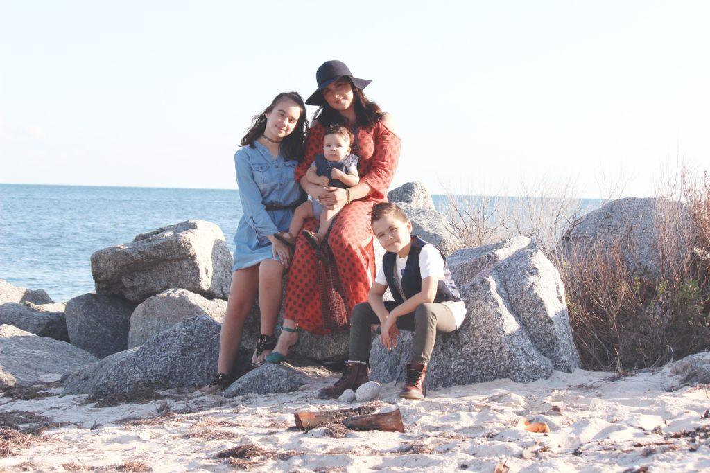 famille vacances enfants parents