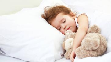 enfant dormir lit nuit doudou terreurs nocturnes