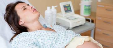 accouchement travail douleur contractions monitoring déclenchement de l'accouchement