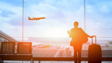 aéroport terminal avion voyage