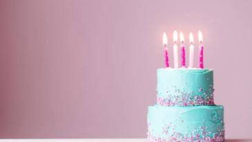 gâteau anniversaire fête