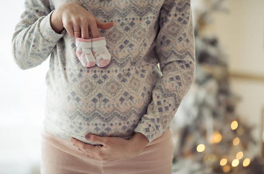 grossesse enceinte Noël fêtes