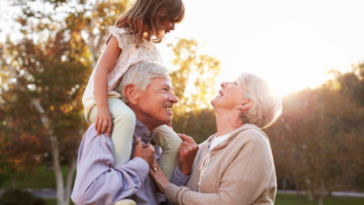 grands-parents petits-enfants famille