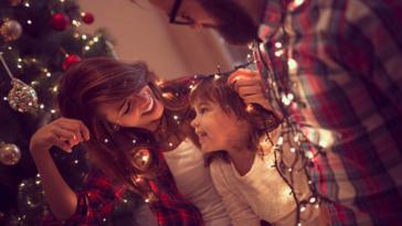 Noël parents enfants fête bricolages fêtes de fin d'année