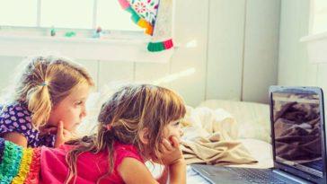 écran ordinateur tablette technologie enfants filles