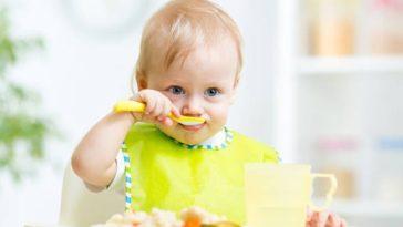 bébé manger nourrir nourriture diversification alimentaire gluten fausse route