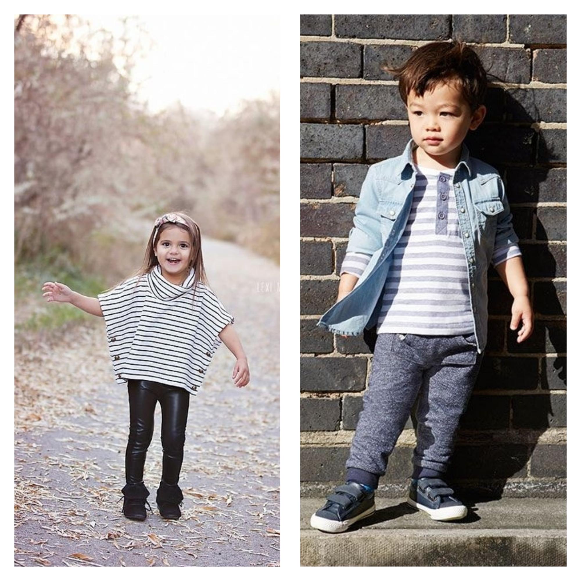 Collage tenues printemps enfants