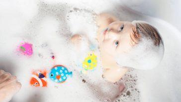 bébé bain jouet mousse
