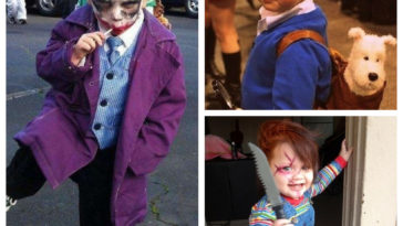 Collage costumes enfant
