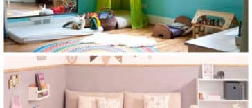 Collage chambres Montessori