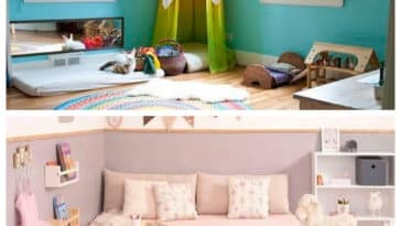 Collage chambres Montessori