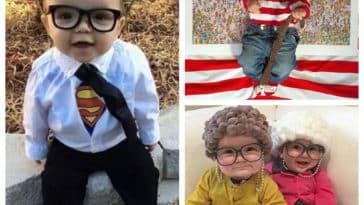 Collage déguisements bébé