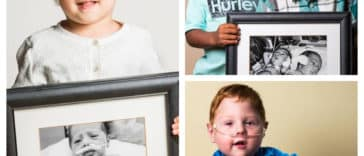 Collage photos évolution bébés prématurés