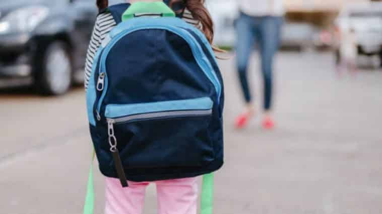 enfant école primaire cartable sac