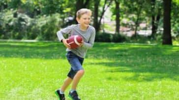 enfant garçon rugby sport jeu