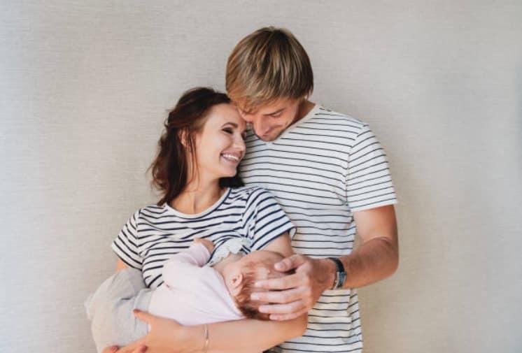couple bébé nourrisson allaitement accompagnement maman papa