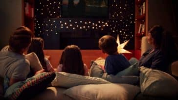 films famille hiver canapé soirée télévision