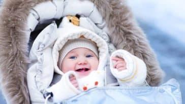 bébé hiver froid vêtements manteau montagne