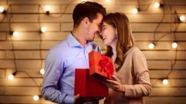 homme femme couple cadeaux amour