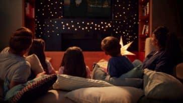 soirée famille enfants film saint-valentin série