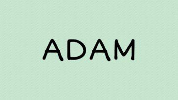 prénom Adam