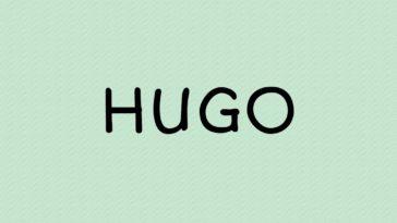 prénom Hugo