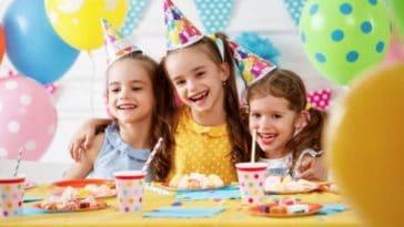 anniversaire enfant fête amis copains goûter