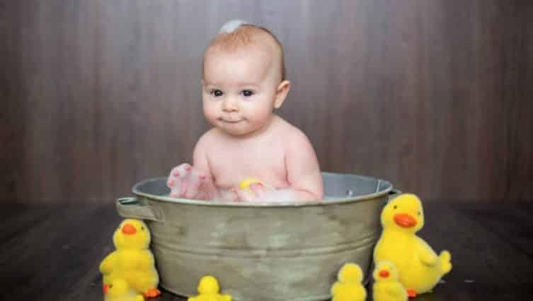 bain libre bébé baignoire jeux