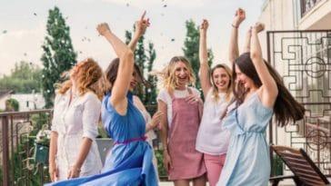femmes célibataire fête copines amies soirée