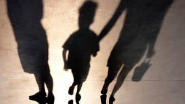 couple enfant séparation divorce garde alternée