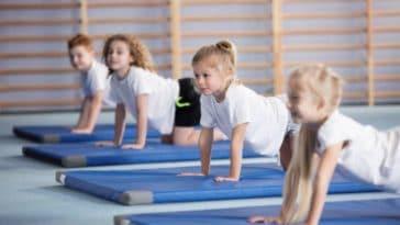 enfant baby gym sport gymnastique cours collectif