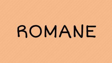 prénom romane