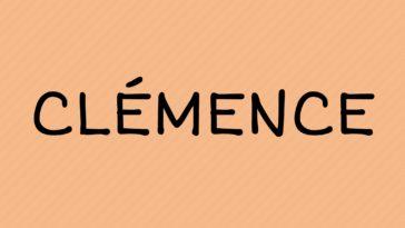 prénom Clémence