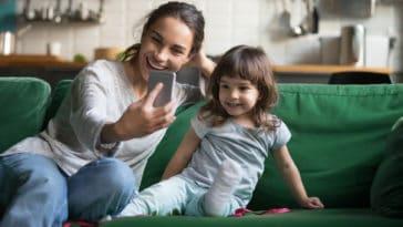 enfant photo réseaux sociaux instagram exposition parents mère maman