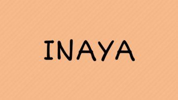 prénom Inaya