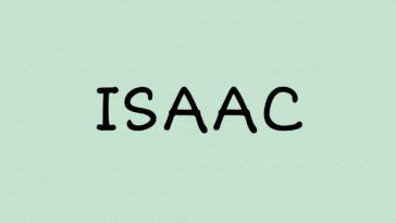 prénom Isaac