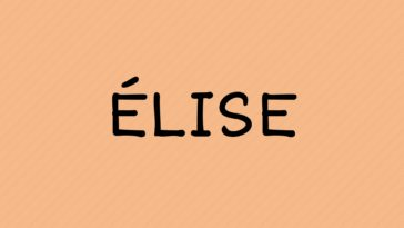 prénom élise