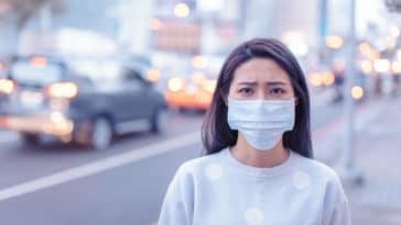 chine asie virus maladie coronavirus masque pollution respiration souffrance respiratoire asthme