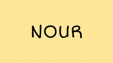 prénom Nour