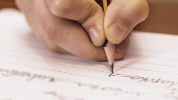 écriture écrire enfant école apprendre crayon