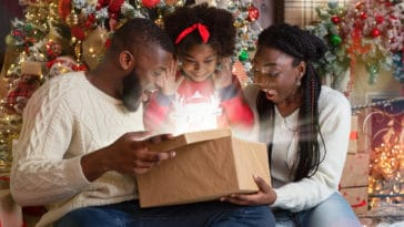 cadeaux Noël 2020 famille sapin