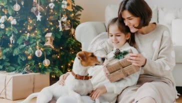 cadeaux noël famille réveillon sapin enfant