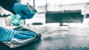 ménage maison rangement désinfection nettoyer éponge