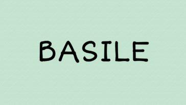 prénom Basile