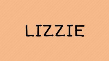 prénom Lizzie