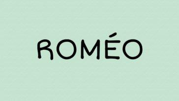 prénom Roméo